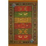 Rug Ghochan Kilim Carpet Handmade Geometric Design
