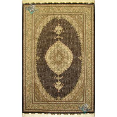 Pair six meter Tabriz carpet Handmade Mahi Design