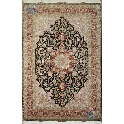 Pair Six meter Tabriz Carpet Handmade Heris Design