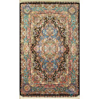 Pair Six meter Tabriz Carpet Handmade Salary Design