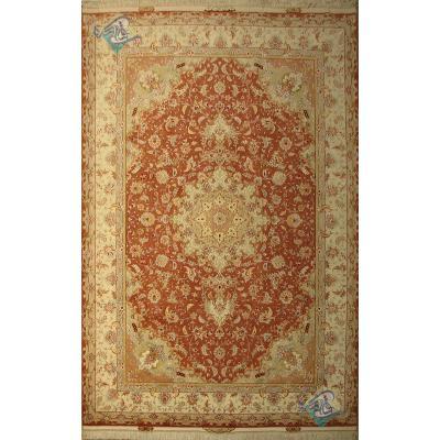 Pair Six meter Tabriz Carpet Handmade Taghizadeh Design