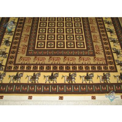 Rug Tabriz Carpet Handmade Pazirik Design
