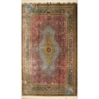 Rug Qom Carpet Handmade Jamshidi Production original