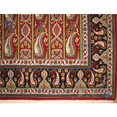 Rug Qom Carpet Handmade Liner Design