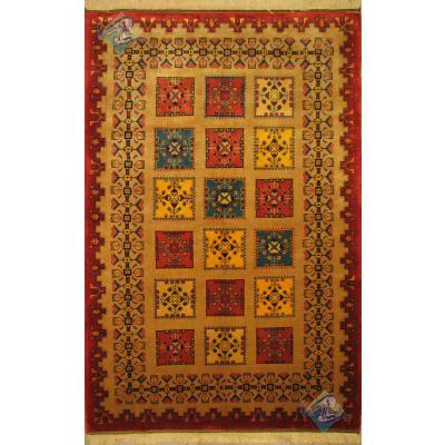 قالیچه قشقایی شیراز طرح آذر