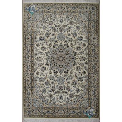 قالیچه دستباف نائین 9 لا کرک و ابریشم