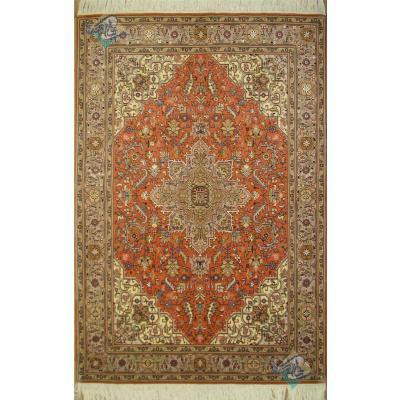 Rug Tabriz Carpet Handmade Silk & Softwool