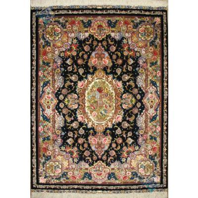 Rug Tabriz Handwoven Carpet Salari Design