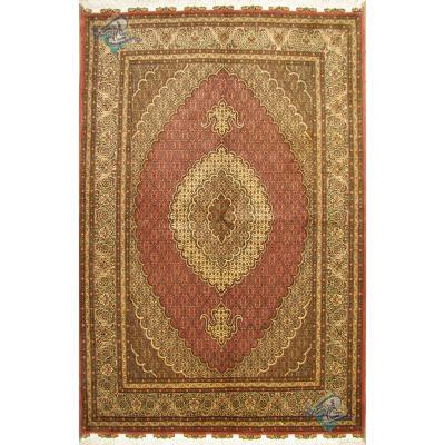 جفت قالیچه دستباف نقشه جدید ماهی پنجاه رج