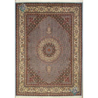 قالیچه دستباف مود بیرجند طرح ماهی گل ابریشم تولیدی برزگر