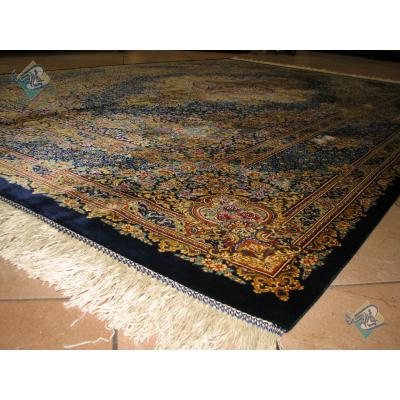Rug Qom Carpet Handmade Naeimi Design all Silk