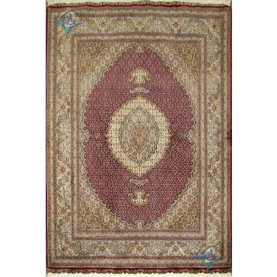 Rug Tabriz Carpet Handmade New Mahi Design