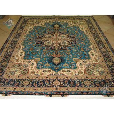 Rug Tabriz Carpet Handmade New Heris Design