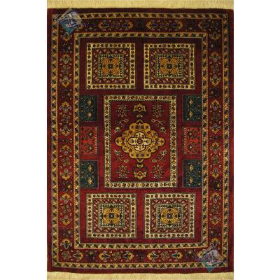 ذرع و نیم  دستباف قشقایی شیرازسفارشی باف رنگ گیاهی