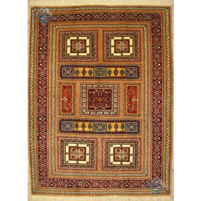 Zar-o-nim Ghashghai Handwoven Adobe Design All wool
