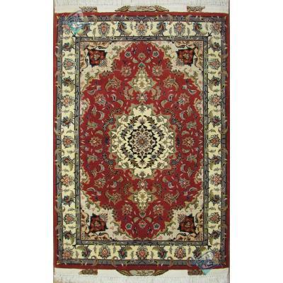 Zar-o-nim Tabriz Carpet Handmade Taghizadeh Design