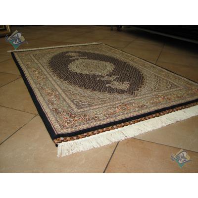 Zar-o-Nim Tabriz Carpet Handmade New Mahi Design