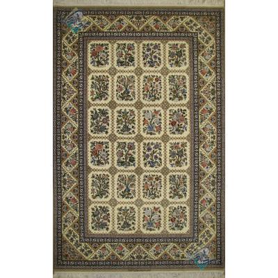 Rug Esfahan Carpet Handmade Tile Design