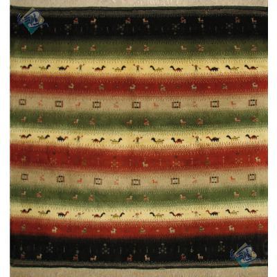 Square Gabbeh Carpet Liner Design