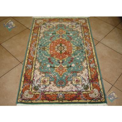 Zar-o-charak Carpet Handwoven Tabriz Pornami  Design