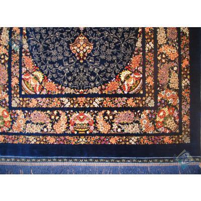 ذرع و چهارک دستباف تمام ابریشم قم تولیدی شفیعی