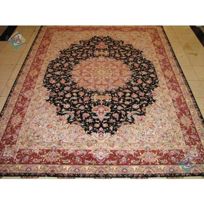 Nine meter Tabriz Carpet Handmade New Oliya Design