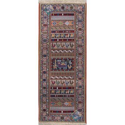 Runner Sirjan Handmade Lion And Sun Design All Wool