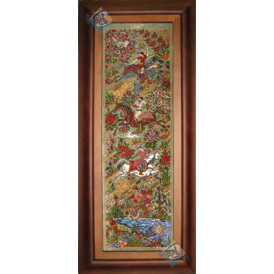 Qom Tableau Carpet Preserve Design