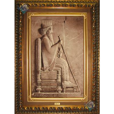 Tabriz Tableau Carpet Cyrus sumptuous
